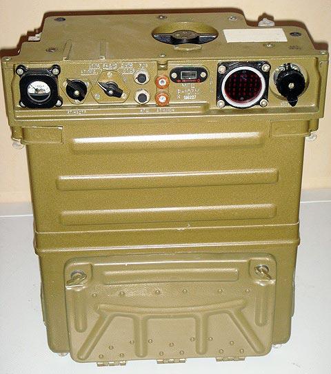 Армейская радиостанция Р-107М
