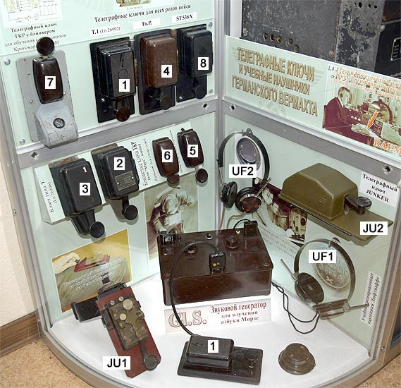 WG Radio Museum - Communications in WWI and WWII